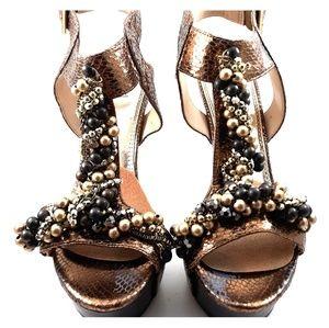 Amor Bronze Sandal